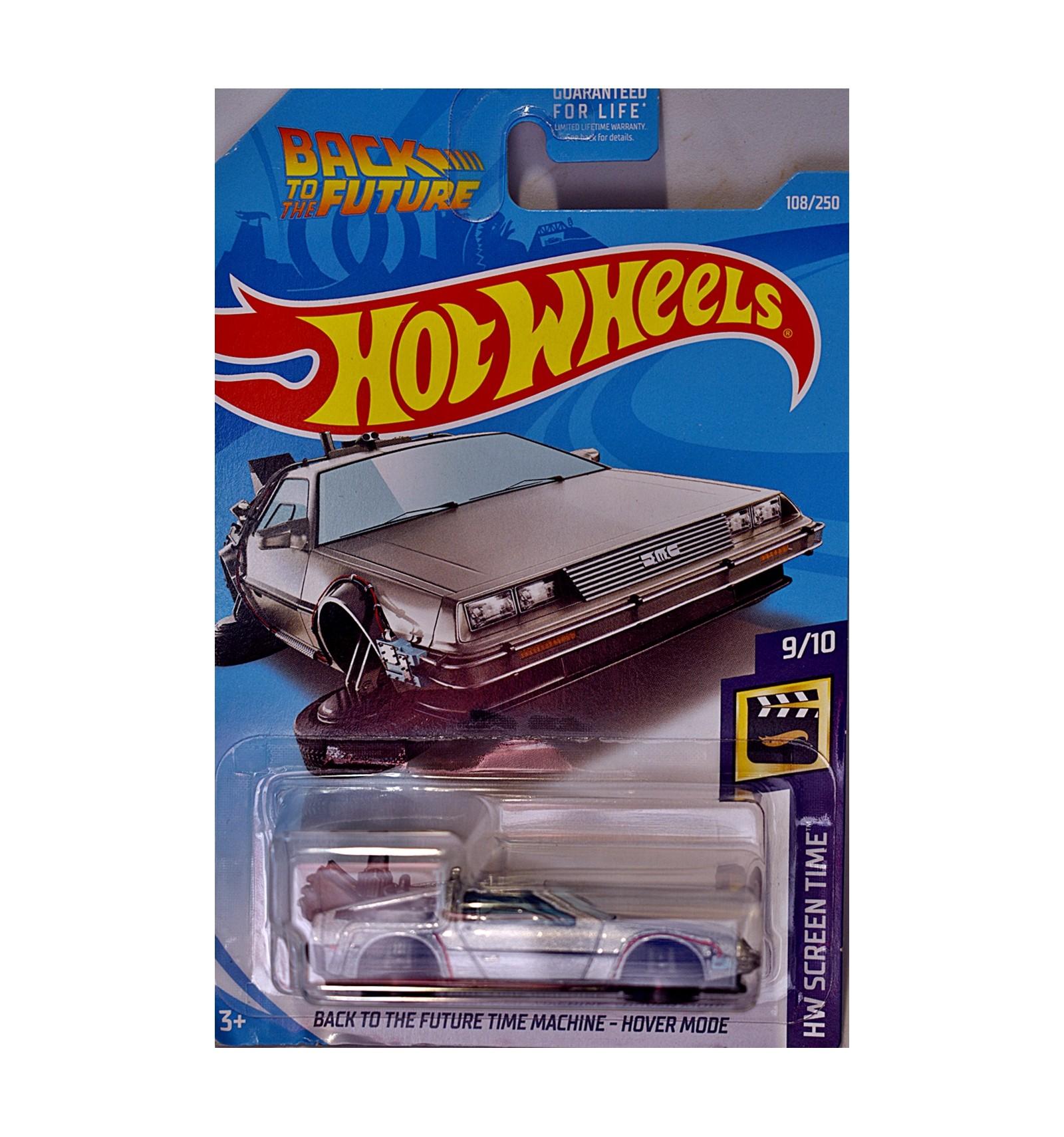 Hot Wheels Back To The Future Time Machine Delorean Dmc 12