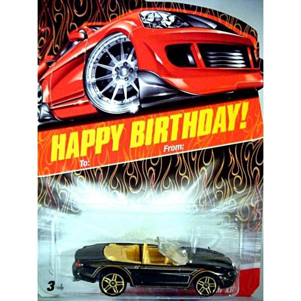 Hot Wheels Happy Birthday Series Jaguar Xk8 Convertible