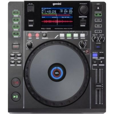 best dj cd player GEMINI MDJ-1000