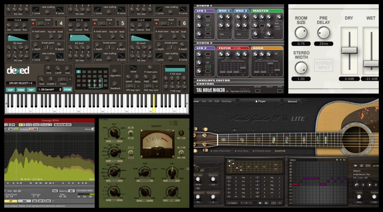 The best free VST plug-ins for Music Production