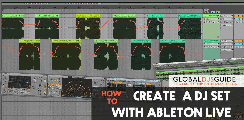 How to create a DJ set with Ableton Live