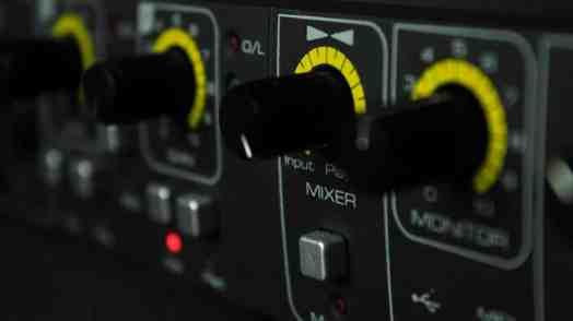 Music Production Mixer Button Audio Controller