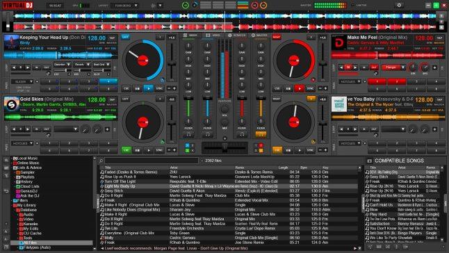 virtual dj - best free dj software