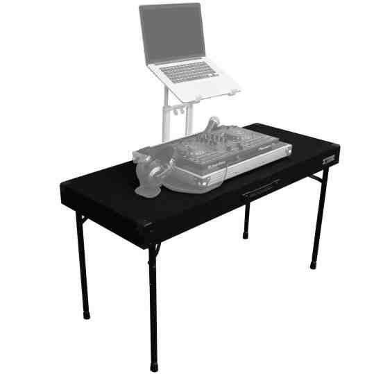 Odyssey Adjustable Carpeted DJ Table