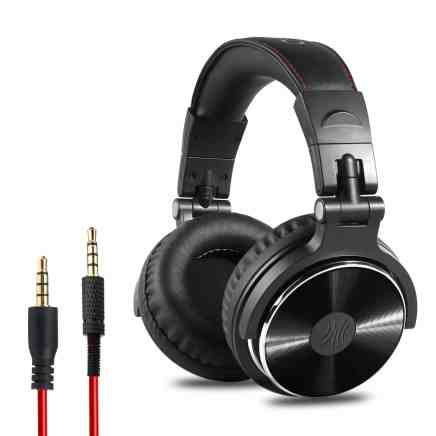 OneOdio Adapter-Free Closed Back Over-Ear DJ Stereo Monitor Headphones