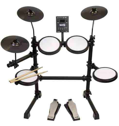 RockJam Mesh Head Kit, Eight Piece Electronic Drum Kit