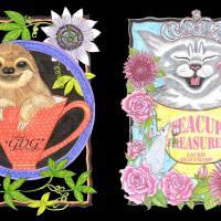 "GDG New! Laurie Beauchamp ""Teacup Treasures"" & Mark Coyle ""Celestial Creatures"""