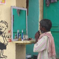 Beware of the barbershops in India!