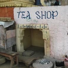 Tea shop in Udaipur - Chai? Chai? Chai?