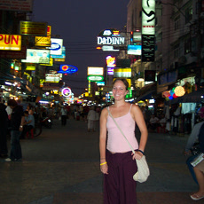Khao San Road - welcome to Thailand