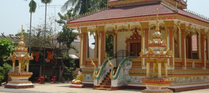Vientiane, Wats, and the Laos New Year