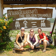 Golden Triangle: Meeting point of Thailand, Laos and Myanmar