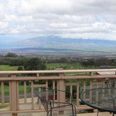 The upcountry of Maui offers cooler breezes. Spend the night at one of the pristine B&B's.