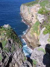'Eua's dramatic coastline