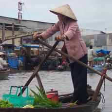 MekongmarketwithladyC