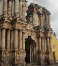 Ruins of churches
