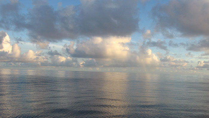 sailing to Palmerston