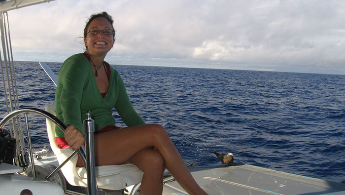 south pacific sailing
