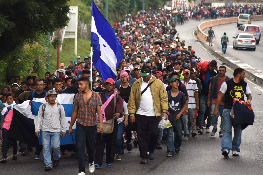Image: GUATEMALA-HONDURAS-US-MIGRATION