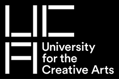 University College for the Creative Arts banner logo