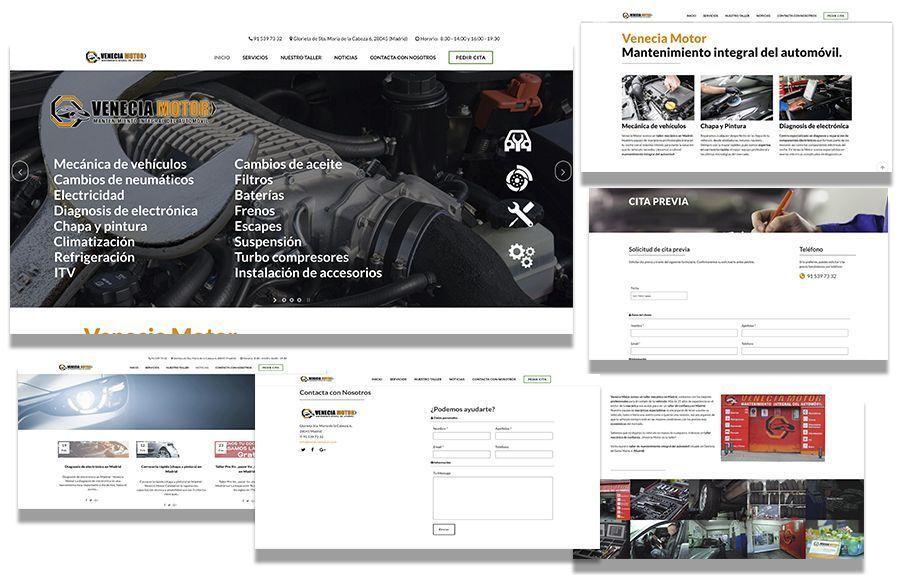 Páginas web de ejemplos