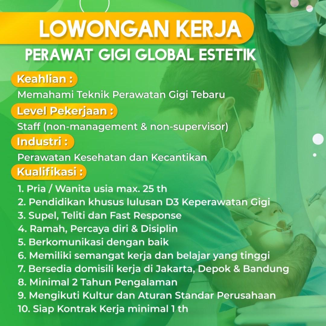 Lowongan perawat gigi di Bandung
