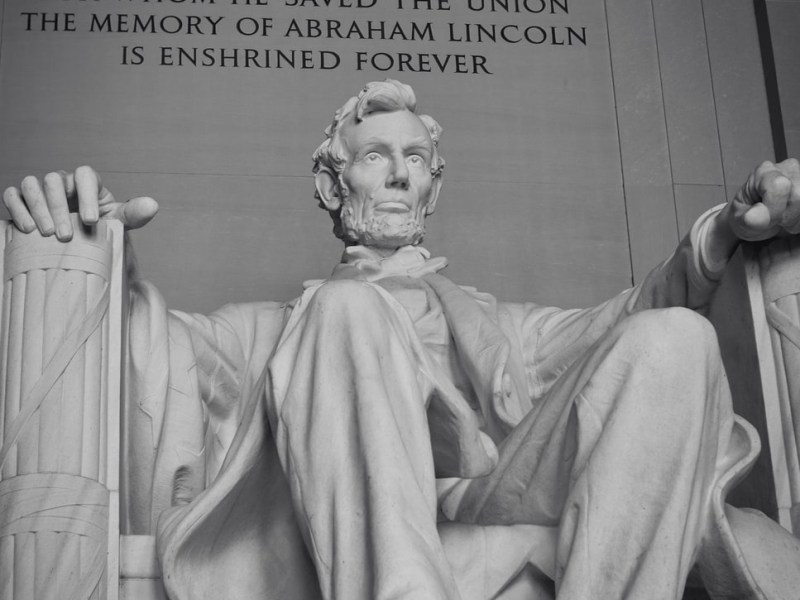 Abraham Lincoln Memorial Statue USA Washington DC 2020 Election Horoscope Mundane Astrology Sybley Chart