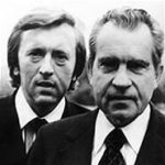 Sir David Frost Dies - pictured with President Richard Nixon