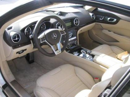 Export New 2013 Mercedes Benz Sl63 Sl Class White On Beige