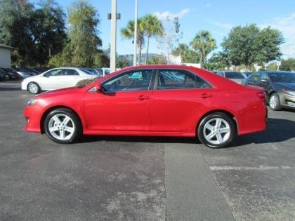 Export Used 2013 Toyota Camry Se Red On Black