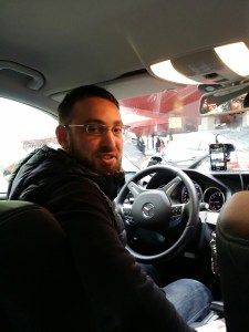 My Taxi driver, Yigit, got me around crazy rush hour/construction traffic to catch my flight when the first driver got stuck