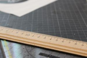 brown wooden ruler
