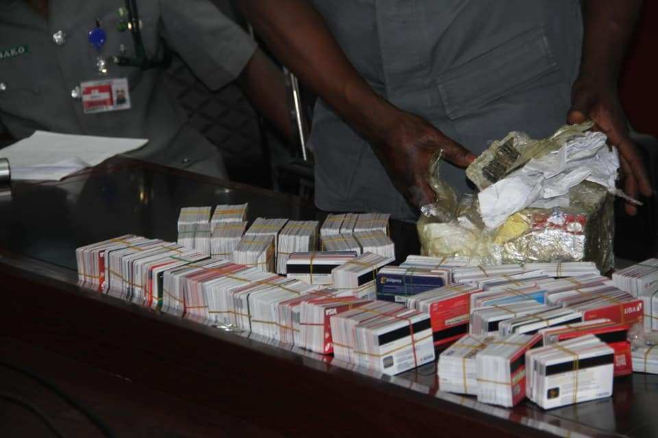 man with 2,00 ATM card