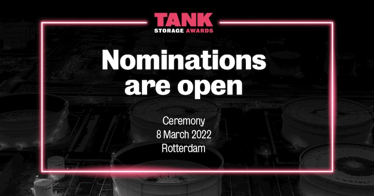 Nominations are now open for the new-look Global Tank Storage Awards