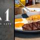 M One Cafe A11 》菜單不僅有早午餐也有主餐與甜點