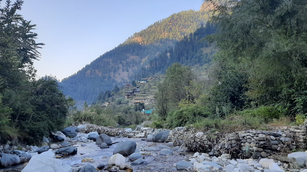 Kasol -A quaint little village in Himachal Pradesh