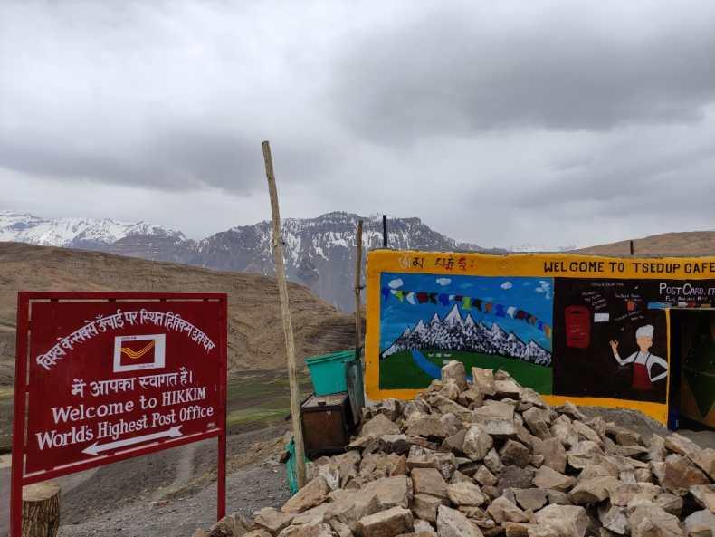Highest post office in the world — Hikkim village