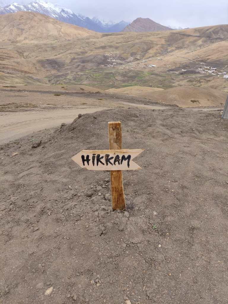 Hikkim The world highest post office