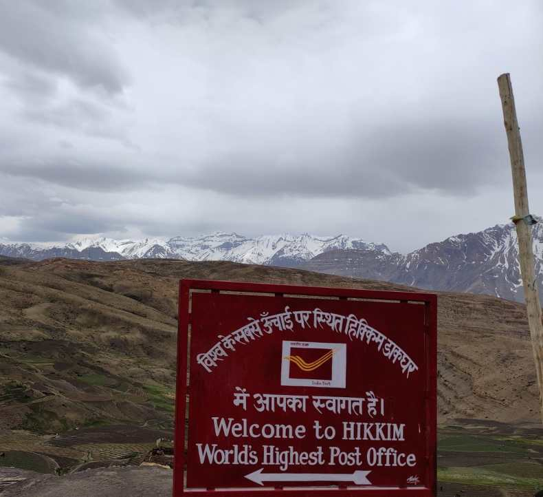 The World's Highest Post Office Is Not In Hikkim In Lahaul & Spiti