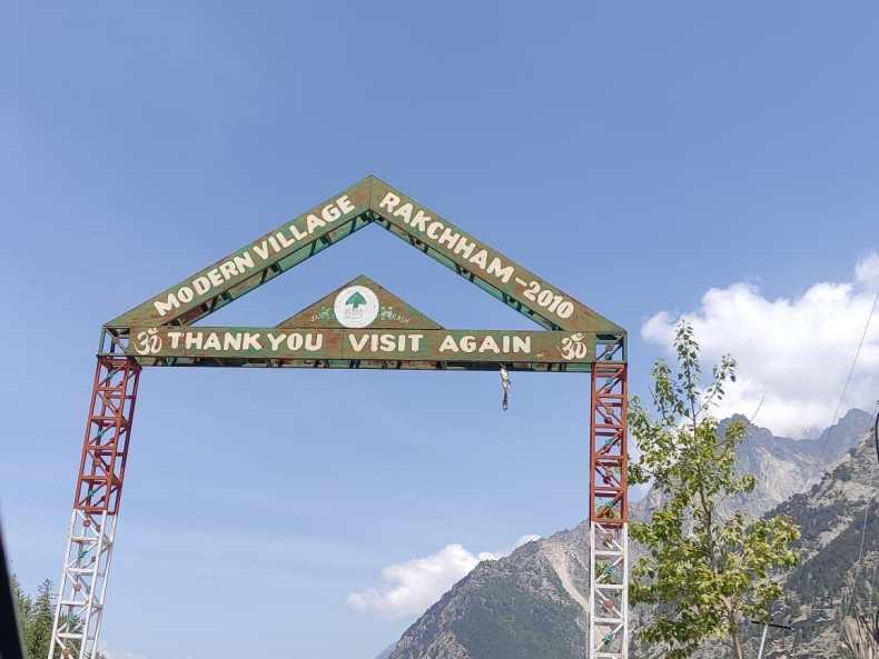 Rakcham Nomadic Himalayan village