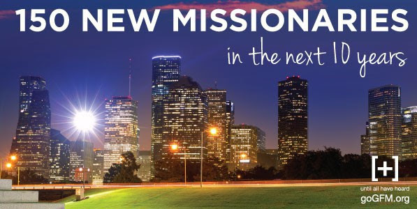 Houston's Goal of 150 New Missionaries in 10 years