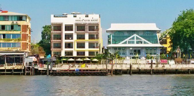 Phra Arthit pier N13 Navalai River resort Bangkok