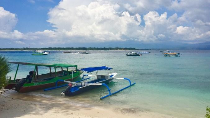 Gili T outlook over to Meno - Gili Islands
