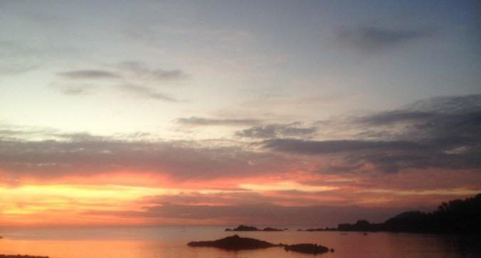 Colomb Beach sunset - Boomshankar - South Goa