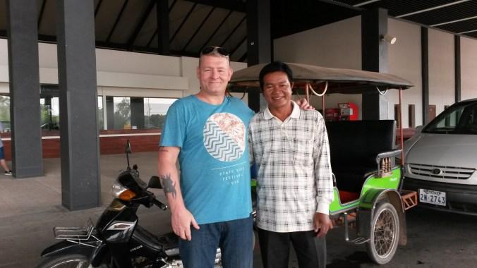 Savuth & Chariot Siem Reap