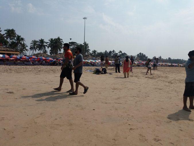 South Goa v North Goa beaches. The south wins hands down