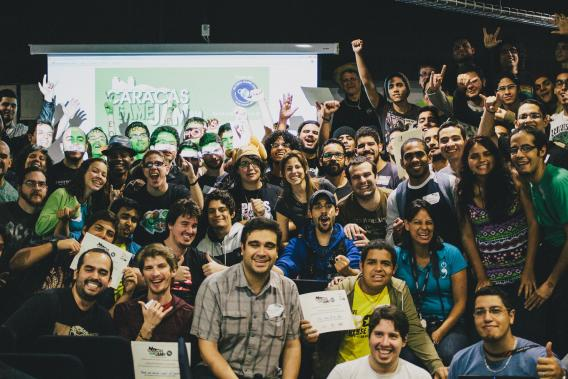 Participants at the Caracas Game Jam 2014