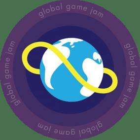 GGJ Round sticker logo