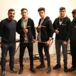 Drei HEROS mit ihren Trainern - ein Projekt für Gleichberechtigung im Bundesland Salzburg