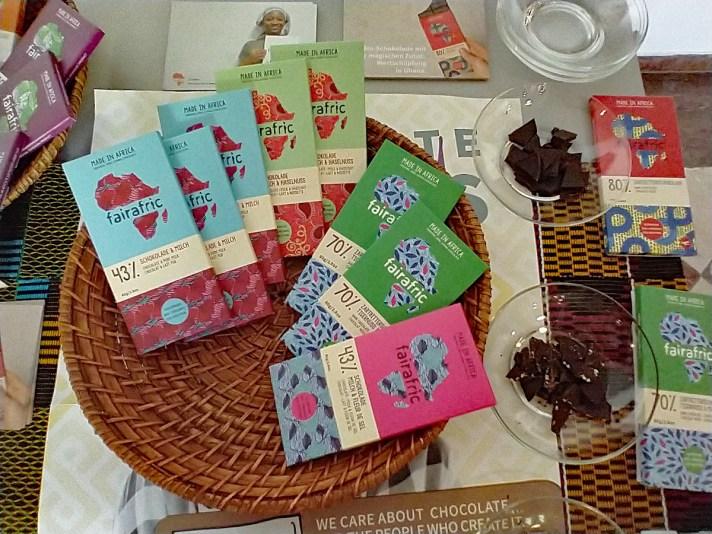Chocolate made in Ghana: FairAfric